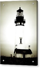 Yaquina Head Light - Haunted Oregon Lighthouse Acrylic Print by Christine Till