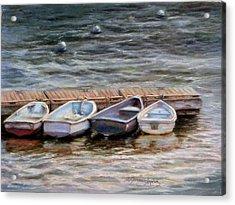 Yarmouth Dory's Acrylic Print