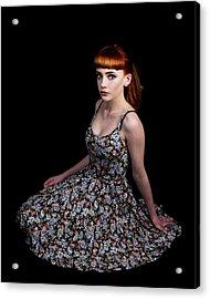Yasmin Skirt Left Acrylic Print