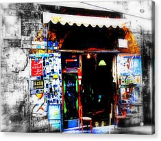 Yassin Glass Maker In Beirut Acrylic Print