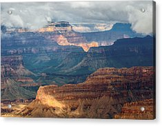 Acrylic Print featuring the photograph Yavapai Point by Beverly Parks