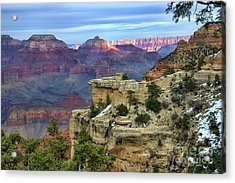Yavapai Point Sunset Acrylic Print