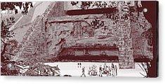 Yavin Temple Acrylic Print