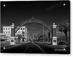 Ybor City Entry Acrylic Print by Marvin Spates