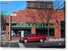 Ye Olde Cock N Bull Acrylic Print by Michiale Schneider