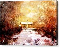 Ye Olde Inn Acrylic Print
