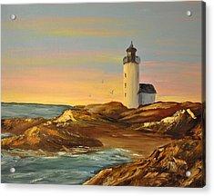 Ye Olde Lighthouse Acrylic Print