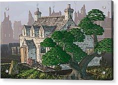 Ye Olde Pub Acrylic Print