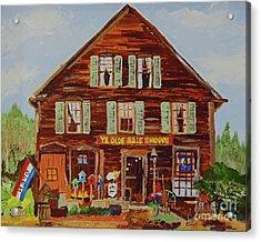 Ye Olde Sale Shoppe Acrylic Print