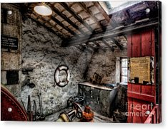 Ye Olde Workshop Acrylic Print by Adrian Evans