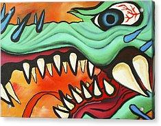 Year Of The Dragon Acrylic Print by Joseph Palotas