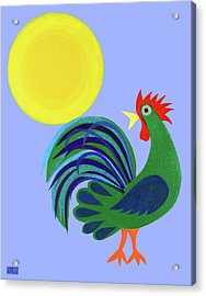 Year Of The Rooster Acrylic Print