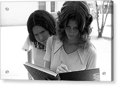 Yearbook Signing, 1972, Part 1 Acrylic Print