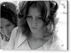 Yearbook Signing, 1972, Part 2 Acrylic Print