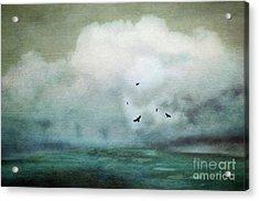 Yearning Acrylic Print by Priska Wettstein