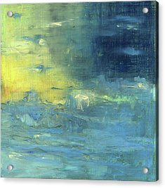 Acrylic Print featuring the painting Yearning Tides by Michal Mitak Mahgerefteh