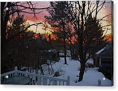 Year's End Two Thousand Ten Acrylic Print by Ross Powell