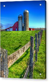 Years Gone By Tennessee Farm Art Acrylic Print by Reid Callaway