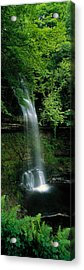 Yeats Waterfall Glencar Co Sligoeire Acrylic Print by Panoramic Images