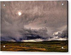 Yellostone Sky Acrylic Print by Patrick  Flynn