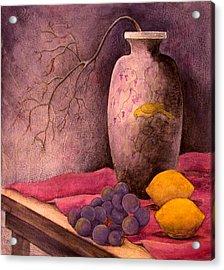 Yellow Bird Acrylic Print by Sandy Clift