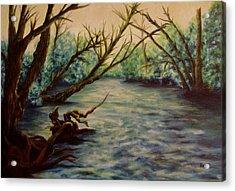 Yellow Breeches Creek Pennsylvania Acrylic Print by Joann Renner
