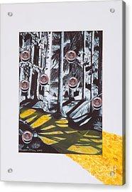 Yellow Brick Road Acrylic Print by Stella Sherman