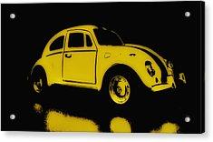 Yellow Bug Acrylic Print