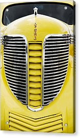 Yellow Desoto Grill Acrylic Print by Patrick Chuprina