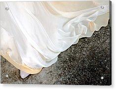 Yellow Dress #9936 Acrylic Print