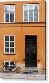 The Orange House Copenhagen Denmark Acrylic Print