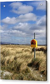Yellow Life Saver Acrylic Print by Pierre Leclerc Photography