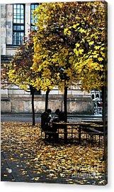 Yellow Lunch Acrylic Print