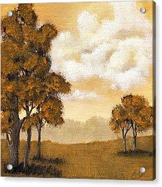 Yellow Mood Acrylic Print