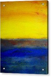 Yellow Sky 1 Acrylic Print
