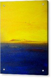 Yellow Sky 2 Acrylic Print