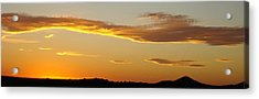 Yellow Sky Three Acrylic Print by Ana Villaronga