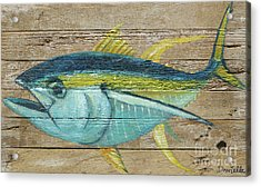 Yellowfin Tuna Acrylic Print