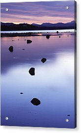 Yellowstone Morning Acrylic Print by Eric Foltz