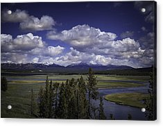 Yellowstone River Acrylic Print
