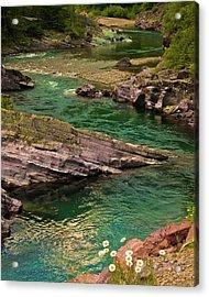 Yellowstone River Scene Acrylic Print