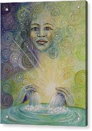 Yemaya - Water Goddess Acrylic Print