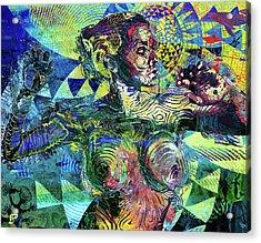 Yemoja Acrylic Print by LP AEkili Ross