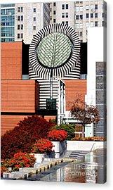 Yerba Buena Garden In San Francisco 40d003679 Acrylic Print