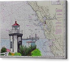 Yerba Buena Island Lighthouse Acrylic Print