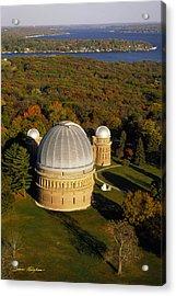 Yerkes Observatory - Aerial View - Lake Geneva Wisconsin Acrylic Print