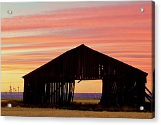 Yesterday And Today At Sunset Acrylic Print