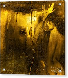 Yesterday Acrylic Print by Sabine Stetson