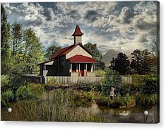 Yesterday When I Was Young .... Acrylic Print by Bob Kramer