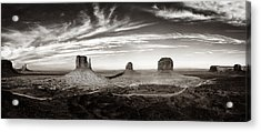 Yesteryear Monument Valley Acrylic Print by Andrew Soundarajan
